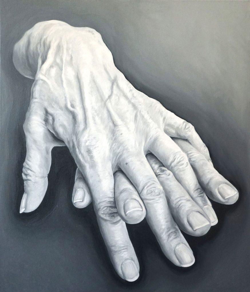 RADICI, Bombardelli, hands, painting