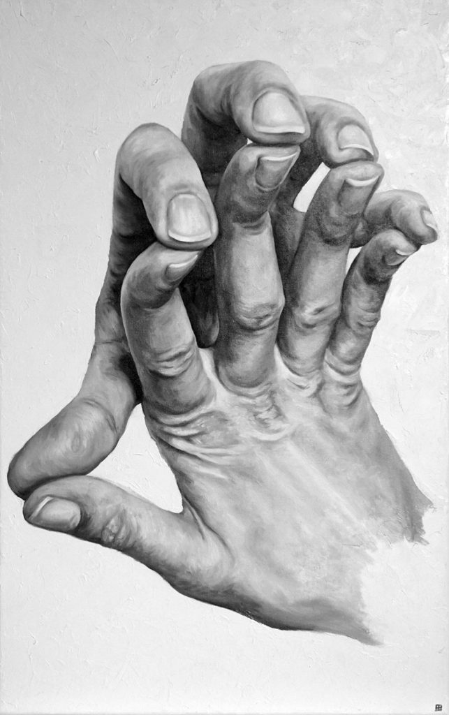 SOPRUSO, Bombardelli, hands, painting