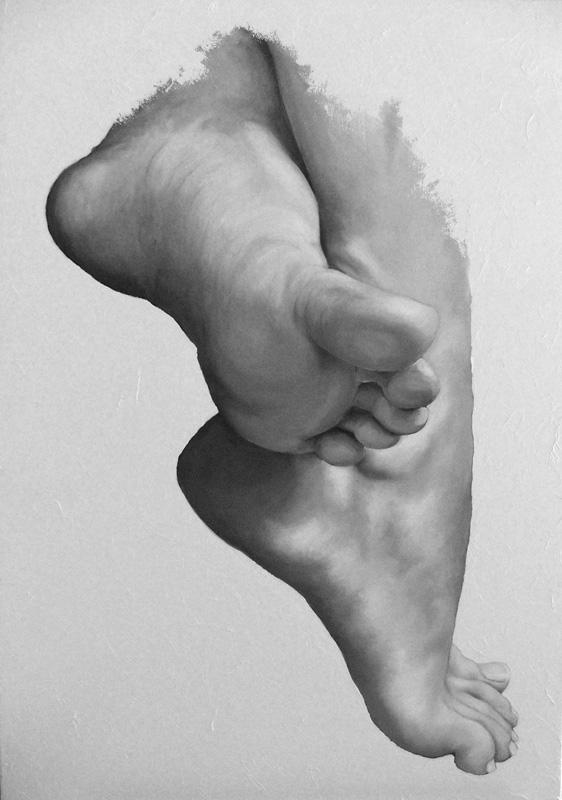 FETICISMI STEFANO, Bombardelli, feet, painting
