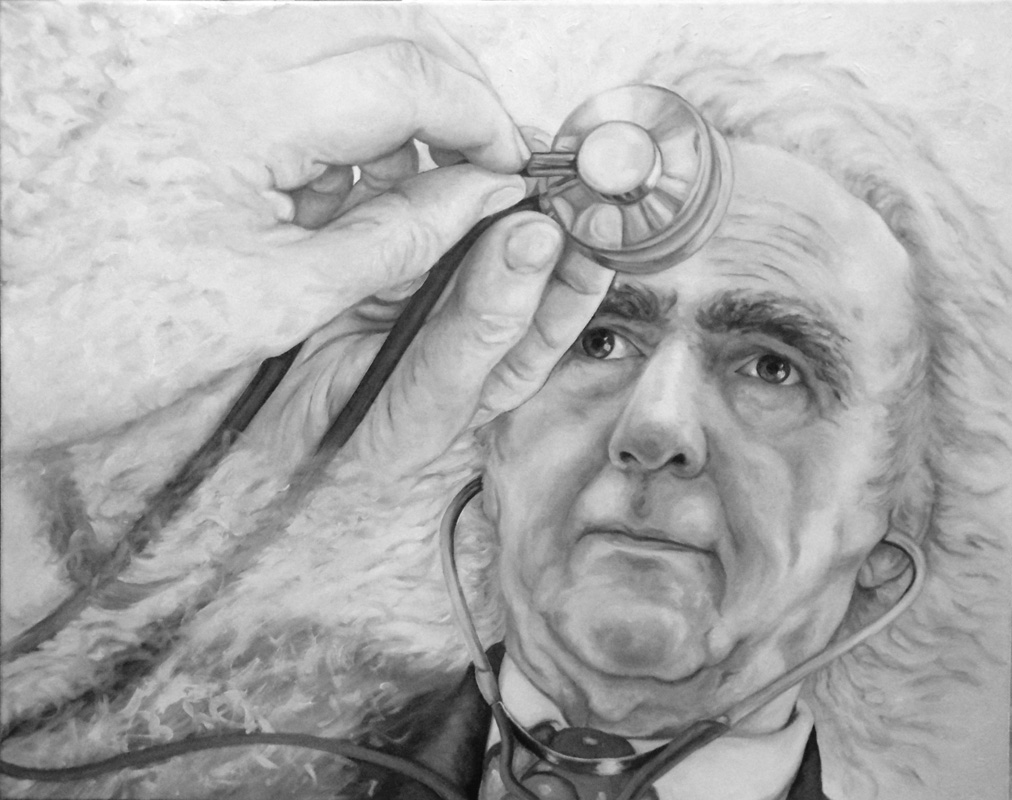VITTORINO ANDREOLI, Bombardelli, portrait, painting