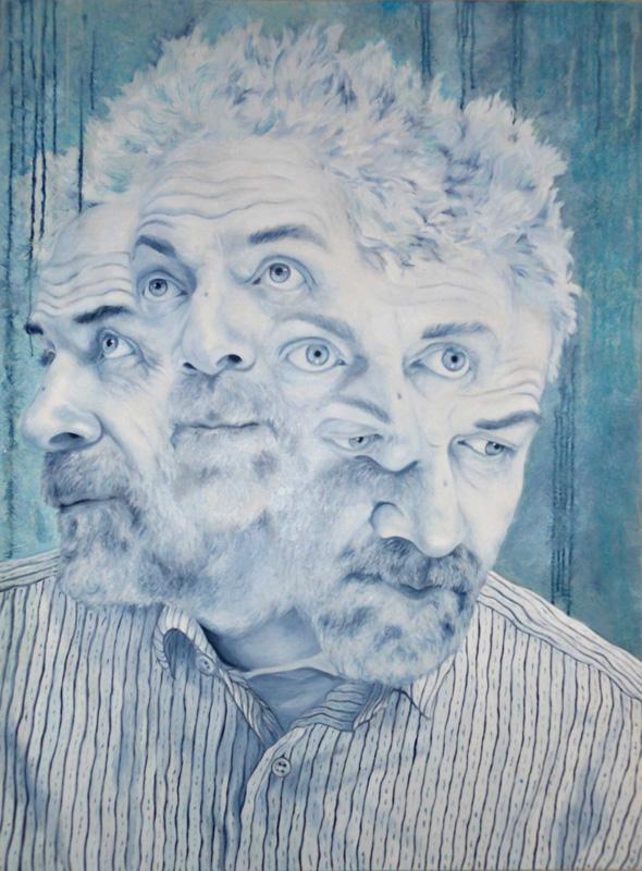 UNO NESSUNO CENTOMILA, Bombardelli, portrait, painting