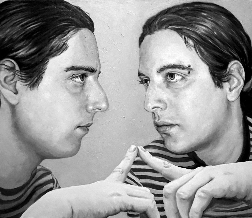 PROSPETTIVE, Bombardelli, portrait, painting