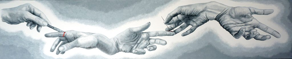 RACCONTO, Bombardelli, hands, surgery, painting